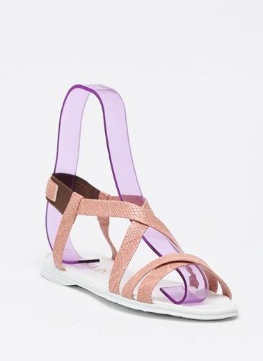 Shoes1441 Sandalet Pudra